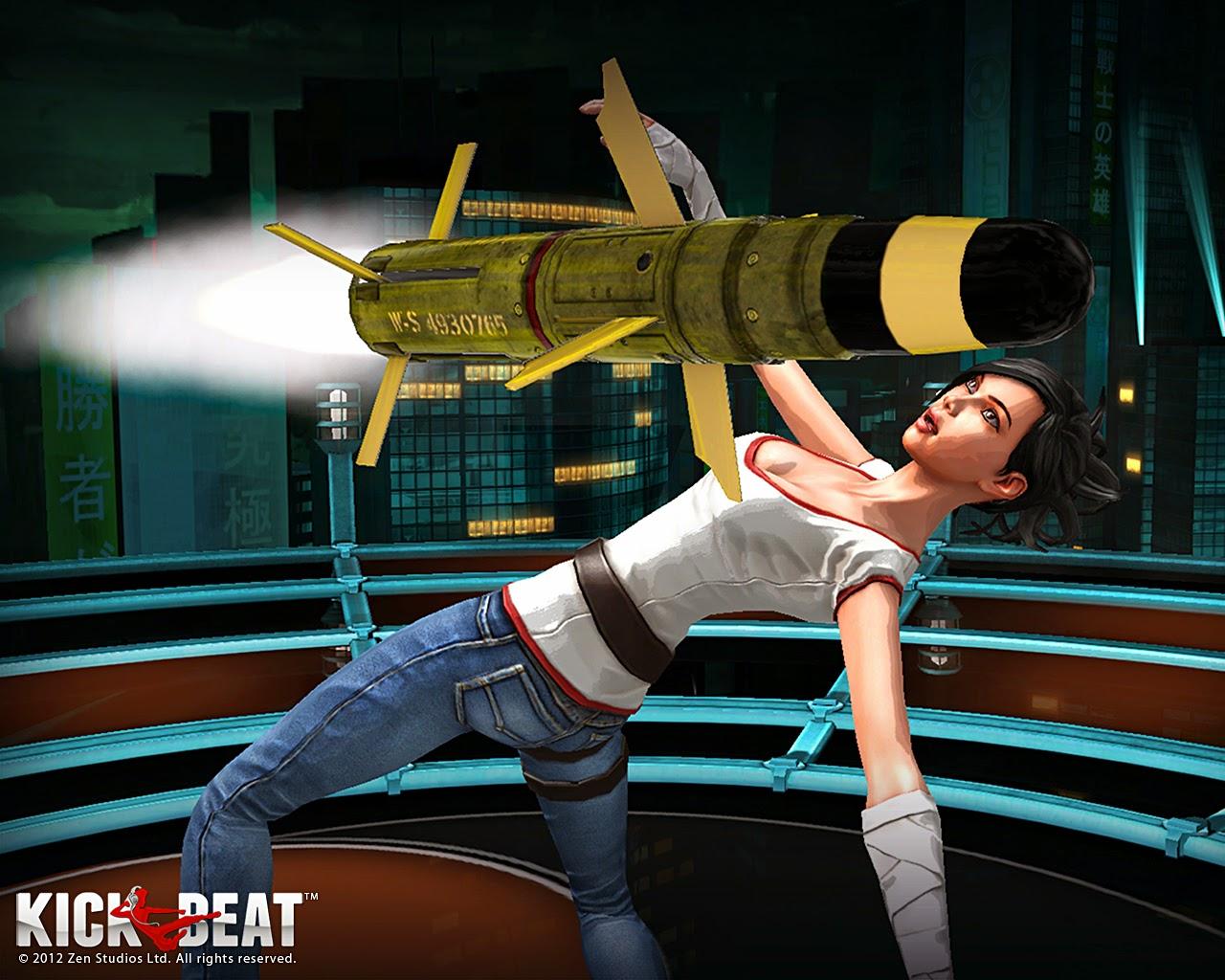 Loạt hình nền tuyệt đẹp của game âm nhạc KickBeat
