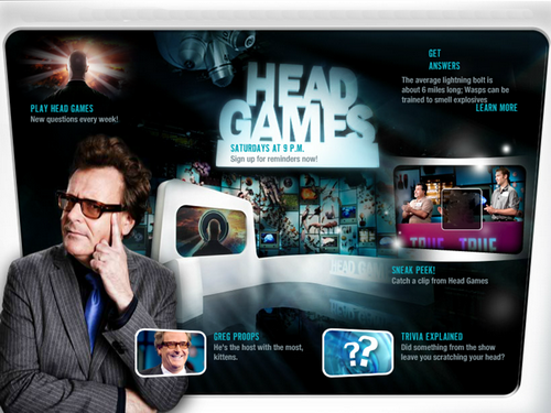 Oszuka� Umys� / Head Games (Season 1) (2012)  PL.DVBRip.XviD / Lektor PL