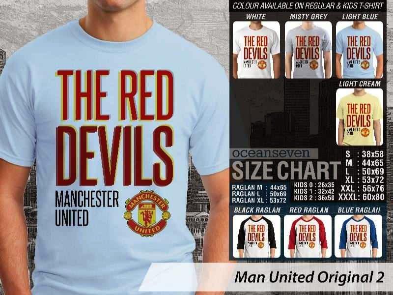 KAOS MU Man Utd Manchester United 35 Logo Klub Bola distro ocean seven