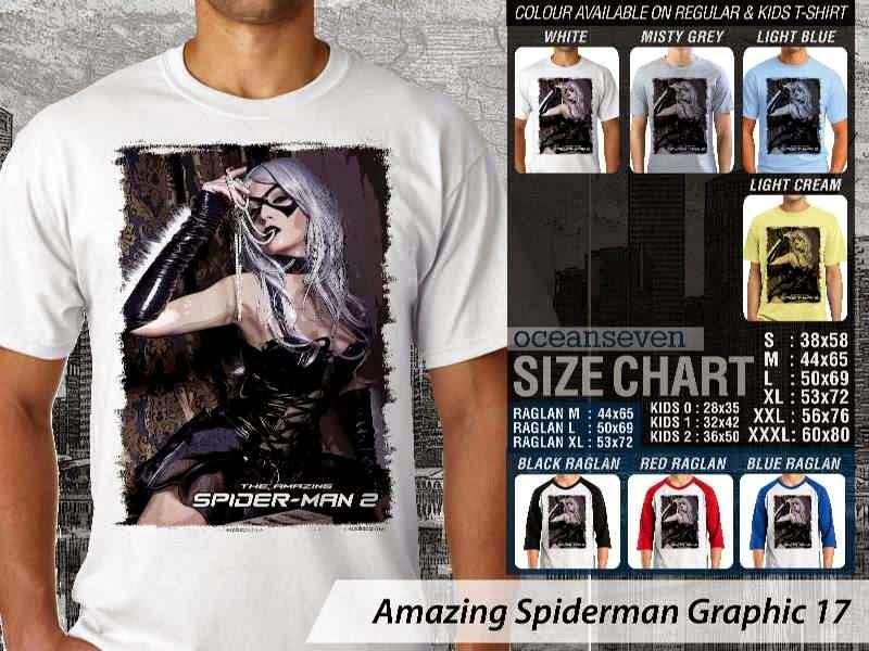 Kaos Film Superhero Amazing Spiderman Graphic 17 distro ocean seven