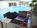 My summer office.