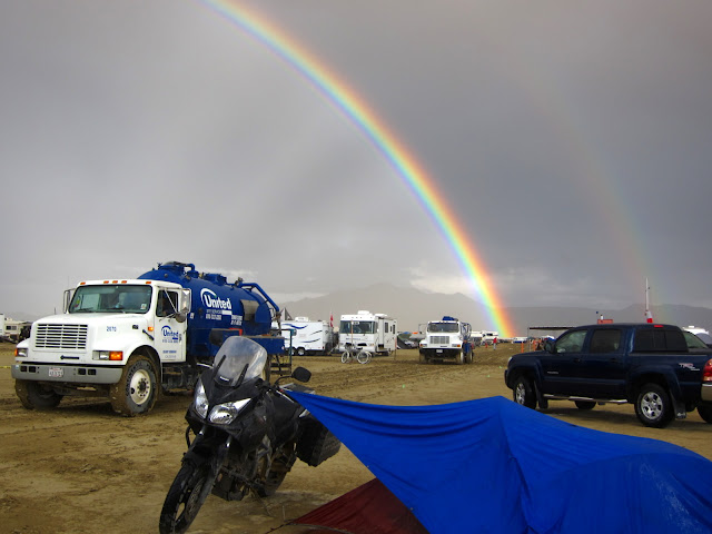 Double Rainbow and My Tent