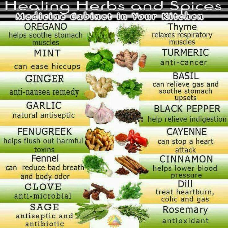 Health Tips: Healing Herbs and Spices!