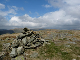 Grey Crag summit cairn