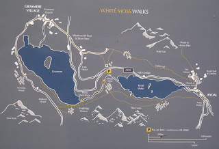 An map of the area