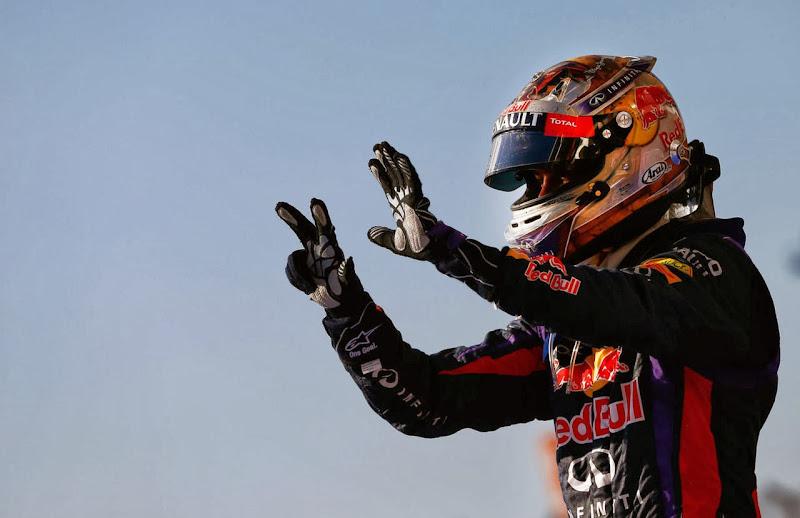 Себастьян Феттель одерживает восьмую победу подряд на Гран-при США 2013