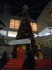 東京オペラシティのクリスマスイルミネーション(点灯式)2012