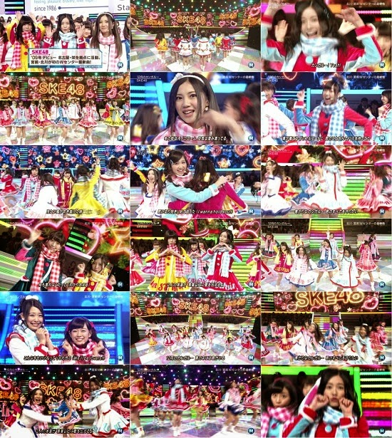 [TV-Variety] SKE48 part – Music Station 141205