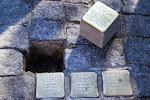 Stolpersteine - Einbau des 5.000. in Berlin