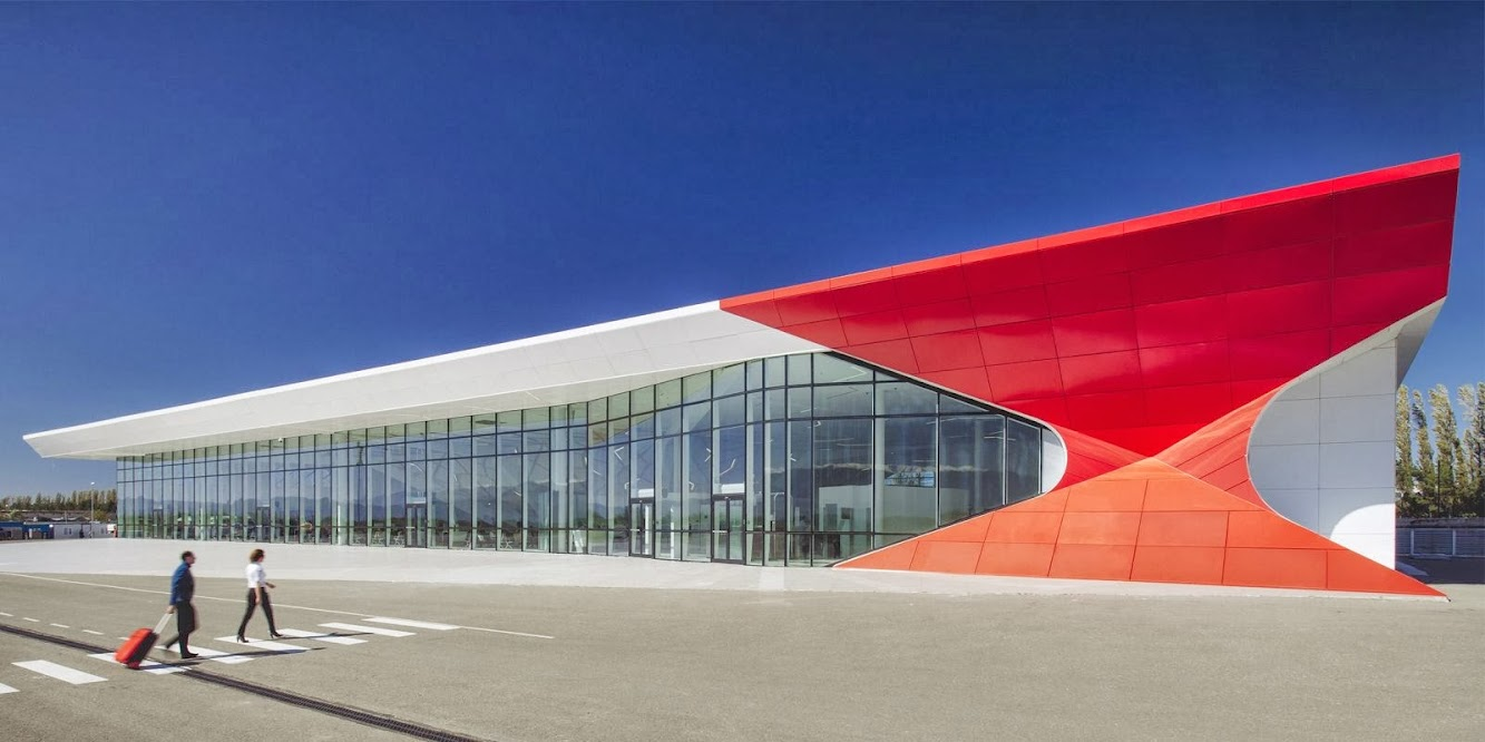 Kutaisi, Georgia: Kutaisi International Airport by Unstudio