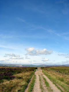 Path from Stanage Edge