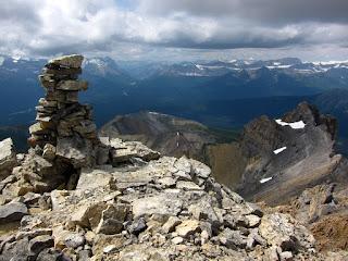 Summit of Mount Richardson