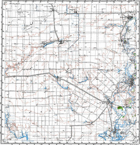 Map 100k--m38-057--(1987)