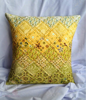 Quilted Cushion Cover Tutorial
