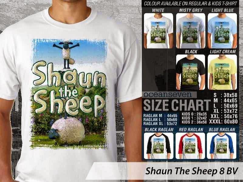 Kaos Movie Shaun The Sheep 8 distro ocean seven