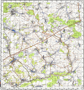 Map 100k--m36-009--(1982)