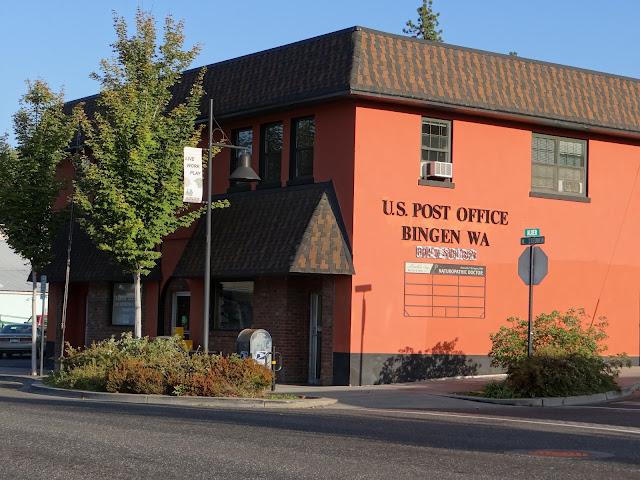 Bingen, WA post office