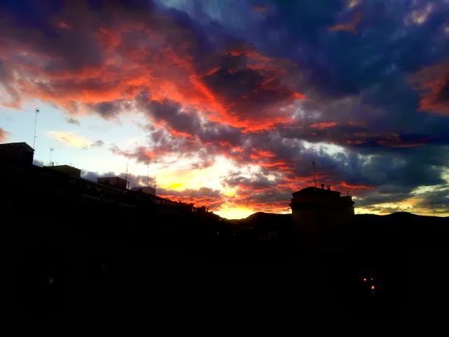 Barcelona Sunset [enlarge]