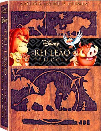 Trilogia O Rei Leão DVDRip RMVB Dublado