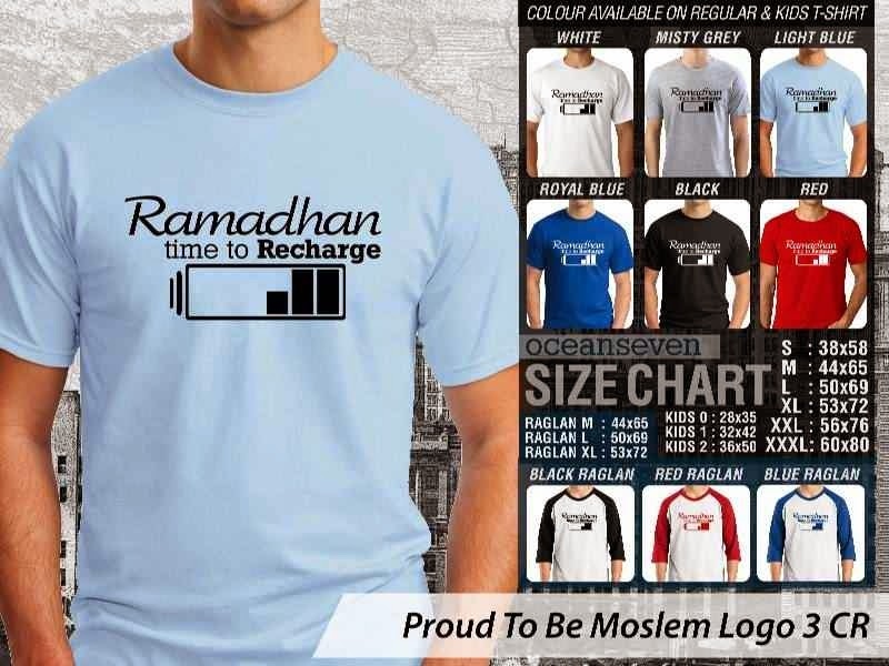 KAOS Islami Muslim Ramadhan time to recharge Proud To Be Moslem Logo 3 distro ocean seven