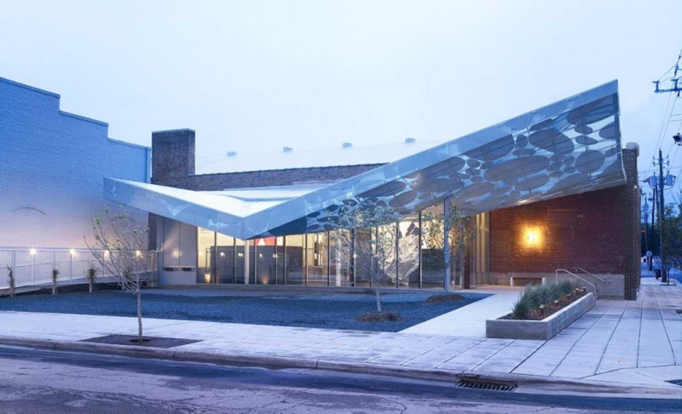 Raleigh, Carolina del Nord, Stati Uniti: Contemporary Art Museum by Brooks + Scarpa, Clearscapes