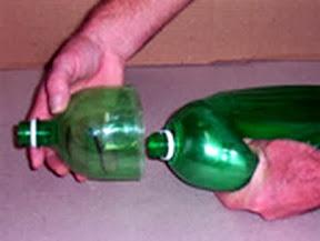 Как из пластиковых бутылок сделать метелку