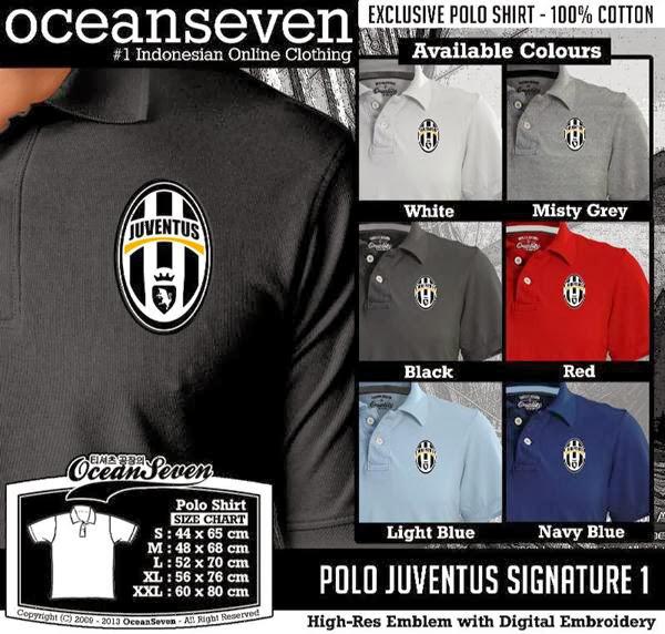 POLO Juventus Signature distro ocean seven