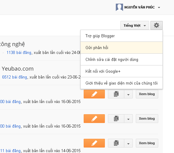 Cách lấy backlink dofolow pr 9 từ blogger
