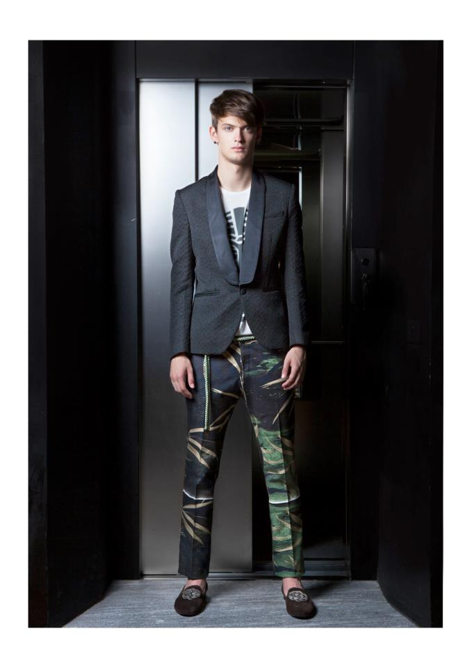 Jungle Prints by Christian Pellizzari in SS13 [men's fashion]