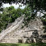 Pyramids of Chaccoben - Costa Maya, Mexico