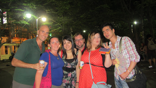 The English Teachers we met in Seoul.