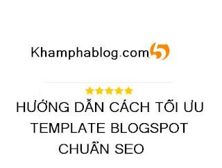 tự tay làm blogspot chuẩn seo