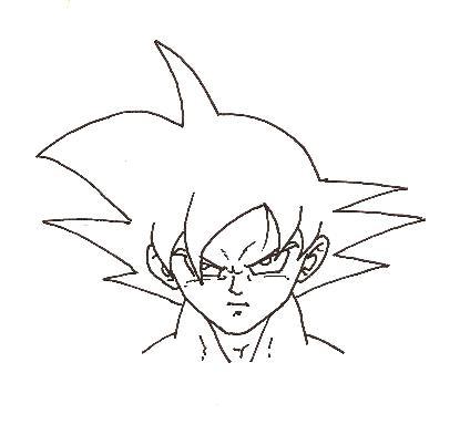 imagenesde99: imagenes de goku faciles de dibujar