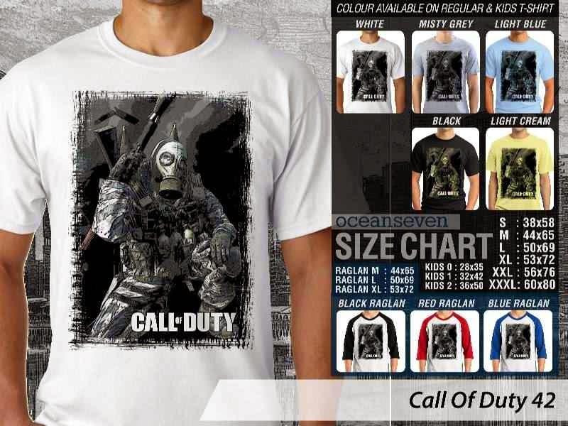 KAOS cod Call Of Duty 42 Game Series distro ocean seven