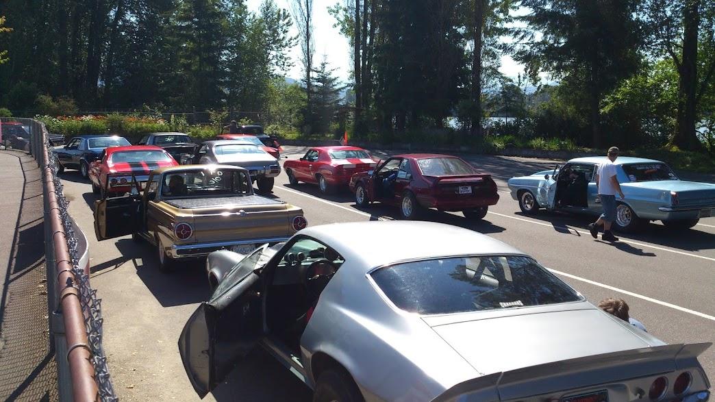 Amateur car racing in vancouver