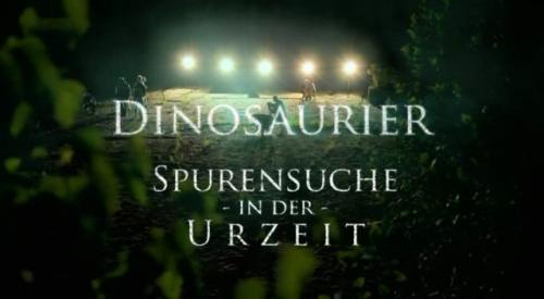 Dinozaury z Obernkirchen / Spurensuche in der Urzeit (2010) PL.TVRip.XviD / Lektor PL