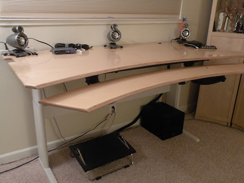 How I Made My Adjustable Height Standing Desk