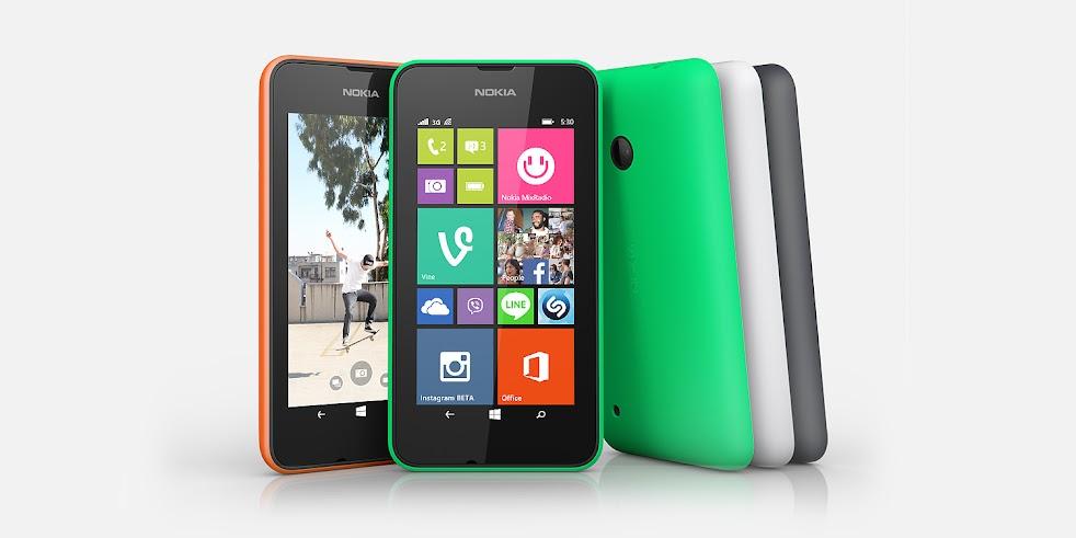 Nokia Lumia 530 Dual SIM - Spesifikasi Lengkap dan Harga