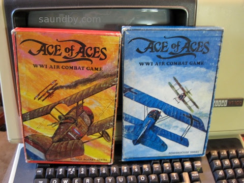 Ace of Aces game covers from the late 70s
