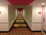 Our hallway at the Flamingo