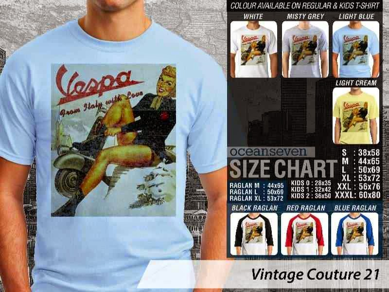 Kaos Vespa from Holy with Love vespa Vintage Couture 21 distro ocean seven