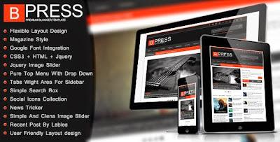 BPress blogger templates