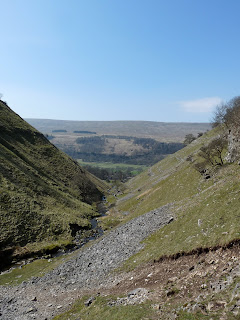 Looking back down the beck