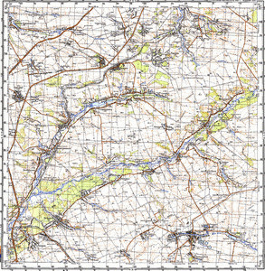 Map 100k--m36-096--(1987)