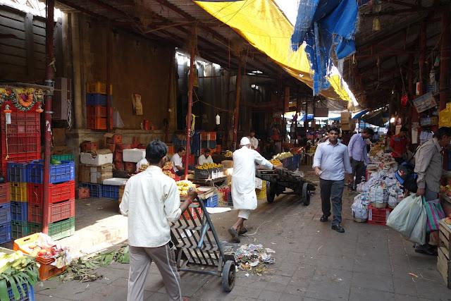 Inside Mumbai's Crawford Market.