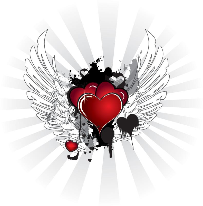 Imagenes Corazones Con Alas - Corazón con Alas: Imágenes Animadas Gifs y Animaciones