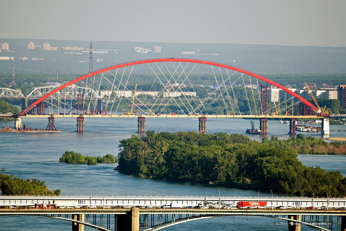 The project of the fourth Novosibirsk bridge over the Ob is approved 68