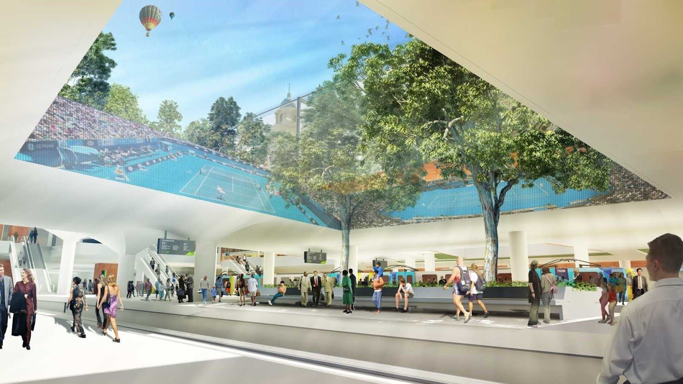 Flinders Street Station Design Competition by Velasquez Pineda