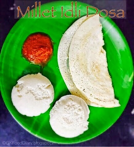 Kuthiraivali Idli Dosa Recipe/Barnyard Millet Idli Dosa Recipe|Breakfast Recipes