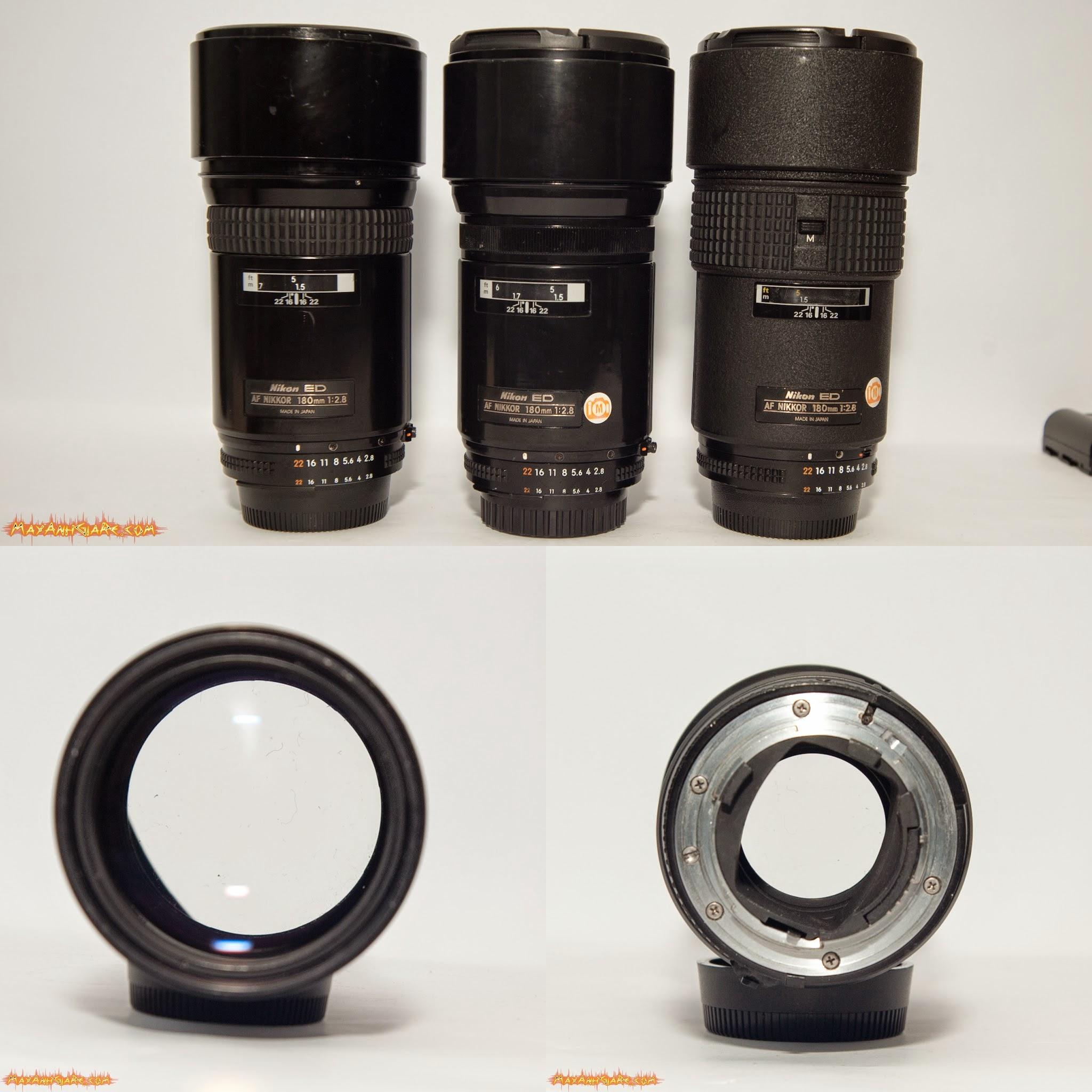 » SG/ HN /TQ - MayAnhGiaRe.com: 3 lens Nikon 180mm f/2.8D ED IF giá chỉ 5tr999 - Hàng Mỹ xách tay bảo hành 3 tháng 1 đổi 1 kèm quà tặng (Nikon 180 2.8D ED IF)